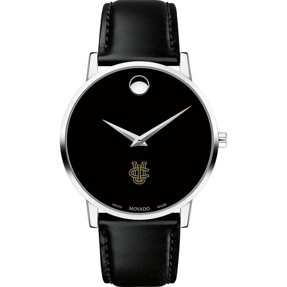 UC Irvine Men's Movado Museum with Leather Strap - Image 2