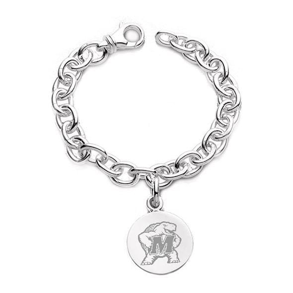 Maryland Sterling Silver Charm Bracelet