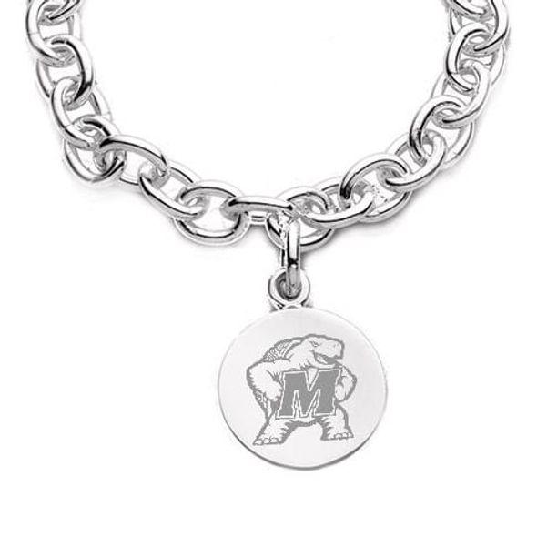 Maryland Sterling Silver Charm Bracelet - Image 2