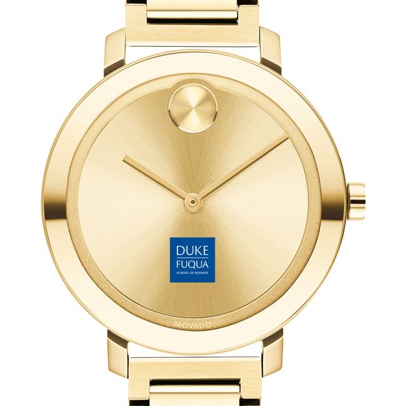 The Fuqua School of Business Women's Movado Gold Bold 34