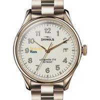 Berkeley Haas Shinola Watch, The Vinton 38mm Ivory Dial