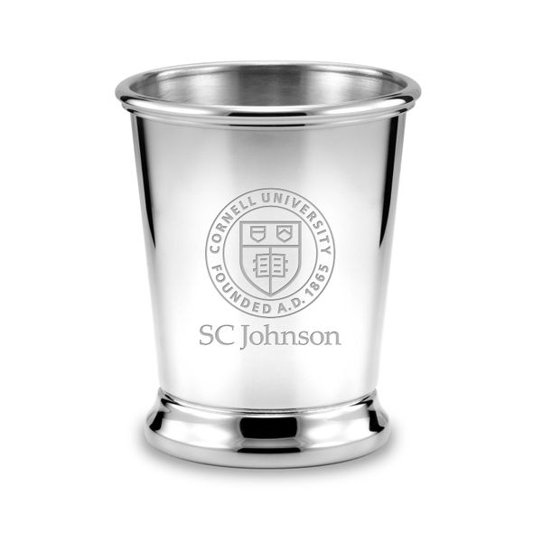 SC Johnson College Pewter Julep Cup - Image 1