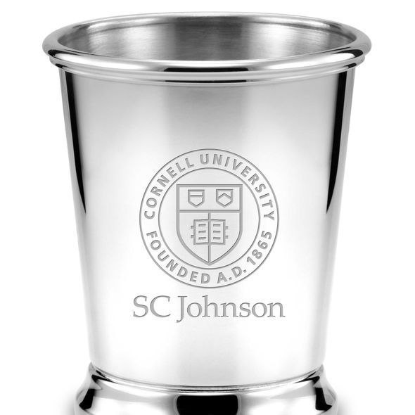 SC Johnson College Pewter Julep Cup - Image 2