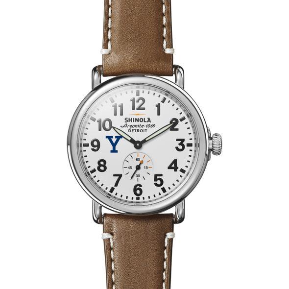 Yale Shinola Watch, The Runwell 41mm White Dial - Image 2