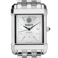 Naval Academy Men's Collegiate Watch w/ Bracelet
