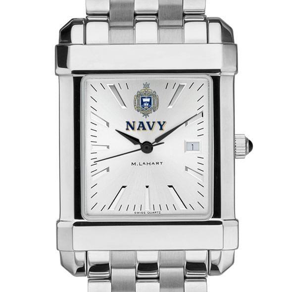 Naval Academy Men's Collegiate Watch w/ Bracelet