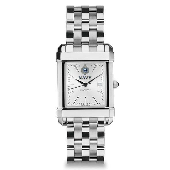 Naval Academy Men's Collegiate Watch w/ Bracelet - Image 2