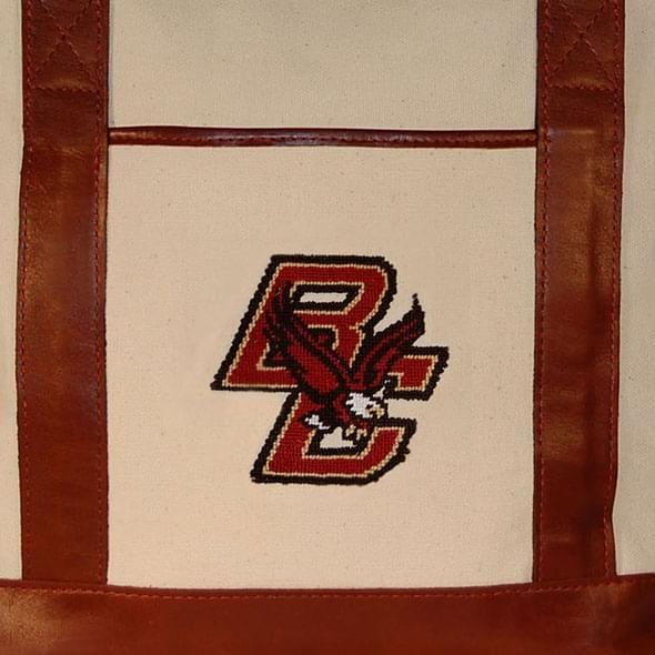Boston College Needlepoint Tote - Image 2