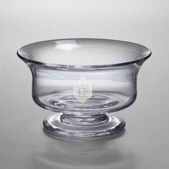 Naval Academy Medium Glass Revere Bowl by Simon Pearce - Image 1