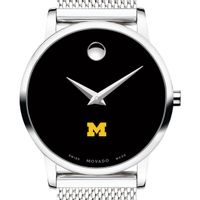 University of Michigan Women's Movado Museum with Mesh Bracelet