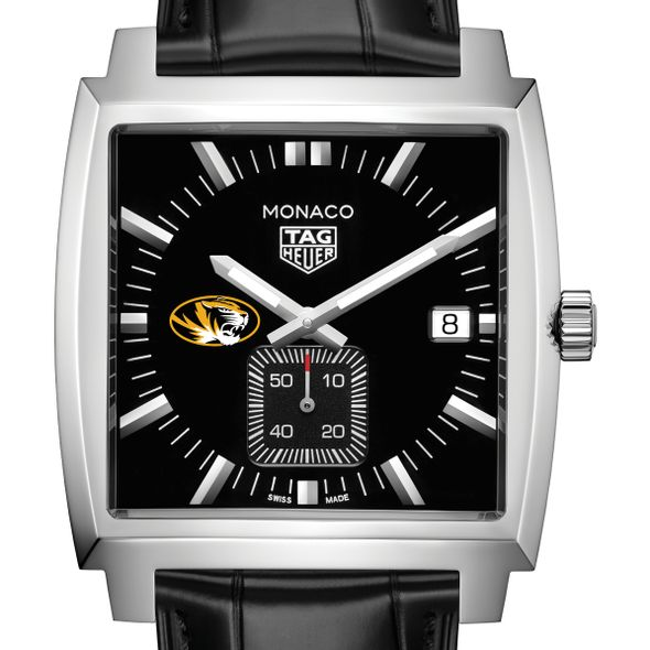 University of Missouri TAG Heuer Monaco with Quartz Movement for Men