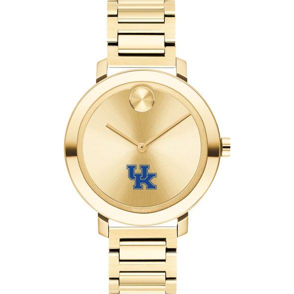 University of Kentucky Women's Movado Gold Bold 34 - Image 2