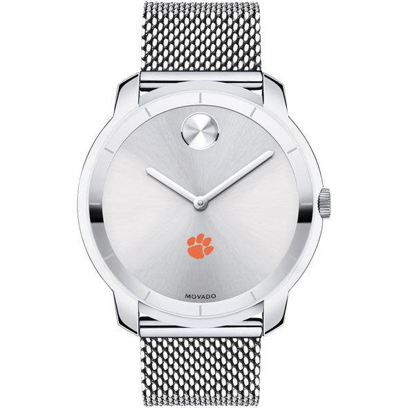 Clemson Men's Movado Stainless Bold 44 - Image 2