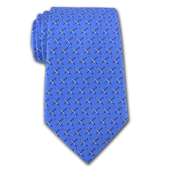 USNI Vineyard Vines Tie in Blue - Image 2