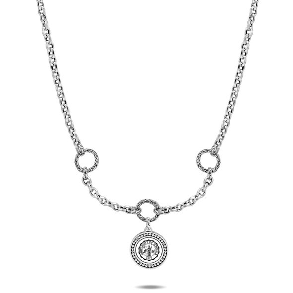 UVA Amulet Necklace by John Hardy with Classic Chain and Three Connectors - Image 2