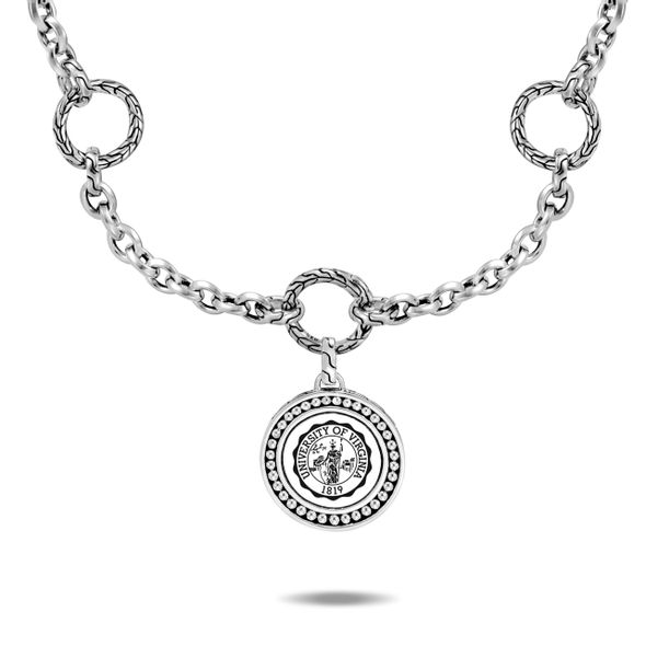 UVA Amulet Necklace by John Hardy with Classic Chain and Three Connectors - Image 3