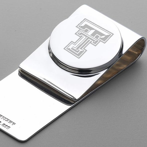 Texas Tech Sterling Silver Money Clip - Image 2