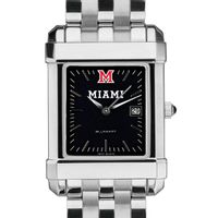 Miami University Men's Black Quad with Bracelet