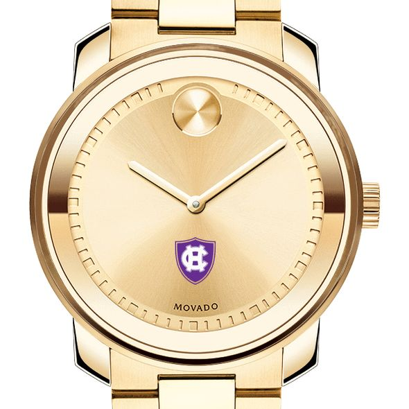 Holy Cross Men's Movado Gold Bold