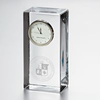 VT Tall Glass Desk Clock by Simon Pearce