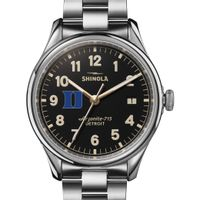 Duke Shinola Watch, The Vinton 38mm Black Dial