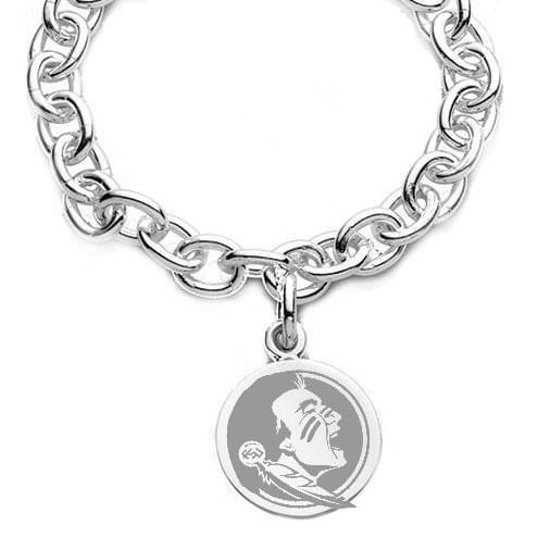 Florida State Sterling Silver Charm Bracelet - Image 2