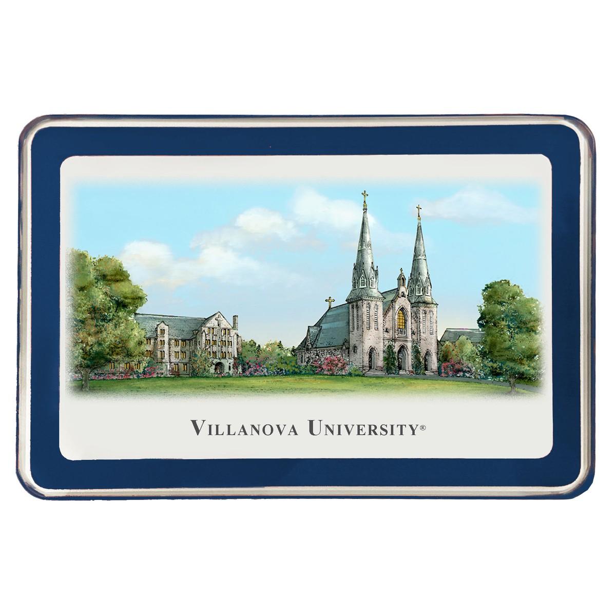 Villanova University Eglomise Paperweight At M Lahart Amp Co
