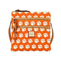 Clemson  Dooney & Bourke Triple Zip Bag