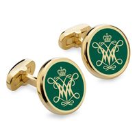 College of William & Mary Enamel Cufflinks