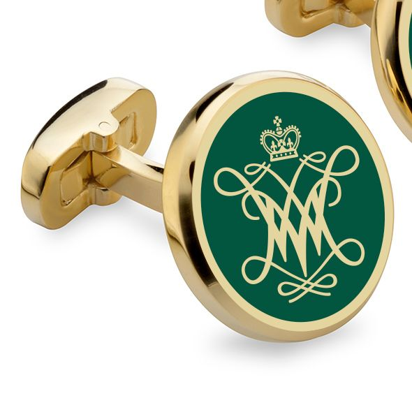 College of William & Mary Enamel Cufflinks - Image 2