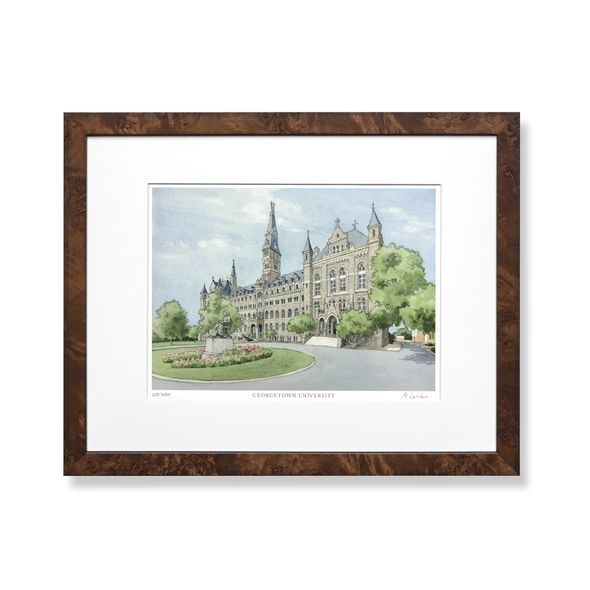 Georgetown Campus Print- Limited Edition, Medium