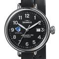 Seton Hall Shinola Watch, The Birdy 38mm Black Dial - Image 1