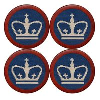 Columbia Needlepoint Coasters