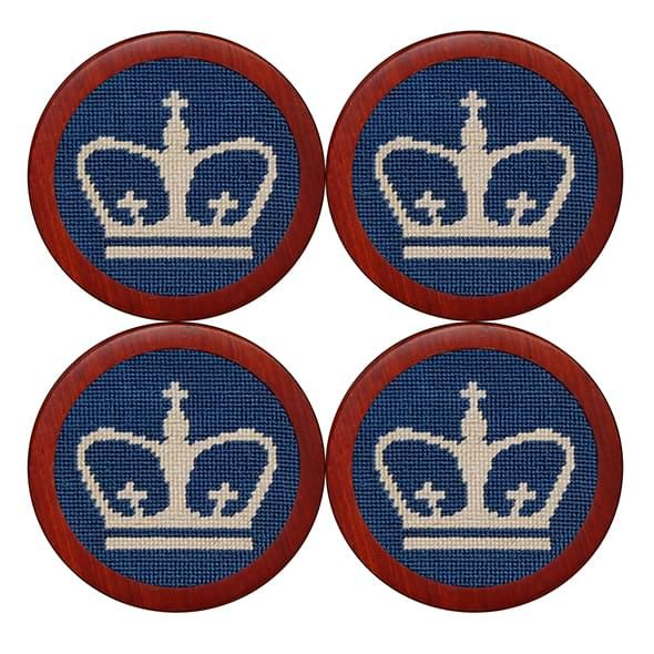 Columbia Needlepoint Coasters - Image 1