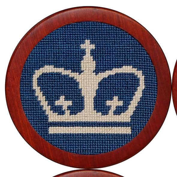Columbia Needlepoint Coasters - Image 3