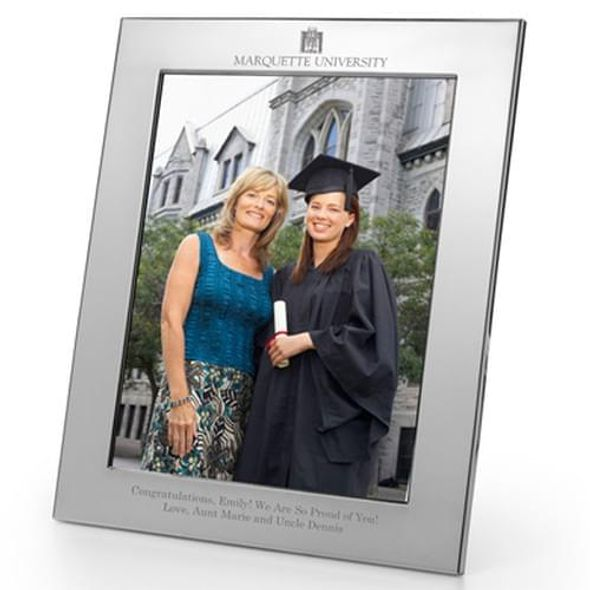 Marquette Polished Pewter 8x10 Picture Frame - Image 1