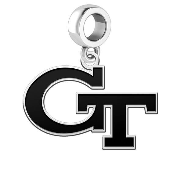 Georgia Tech Cut Out Dangle Charm - Image 2