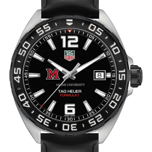 Miami University Men's TAG Heuer Formula 1 with Black Dial