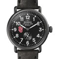 St. John's Shinola Watch, The Runwell 41mm Black Dial - Image 1