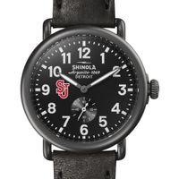 St. John's Shinola Watch, The Runwell 41mm Black Dial