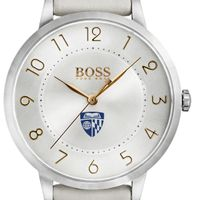 Johns Hopkins University Women's BOSS White Leather from M.LaHart