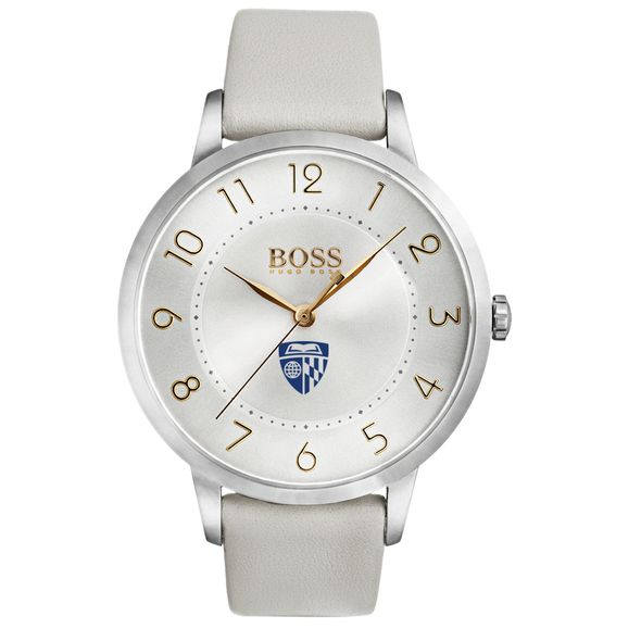 Johns Hopkins University Women's BOSS White Leather from M.LaHart - Image 2
