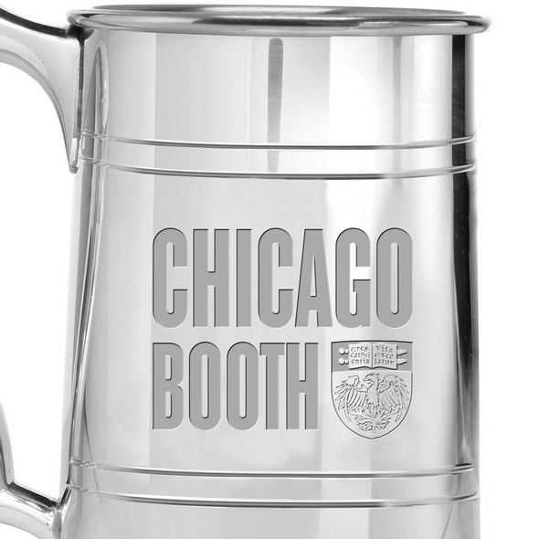 Chicago Booth Pewter Stein - Image 2