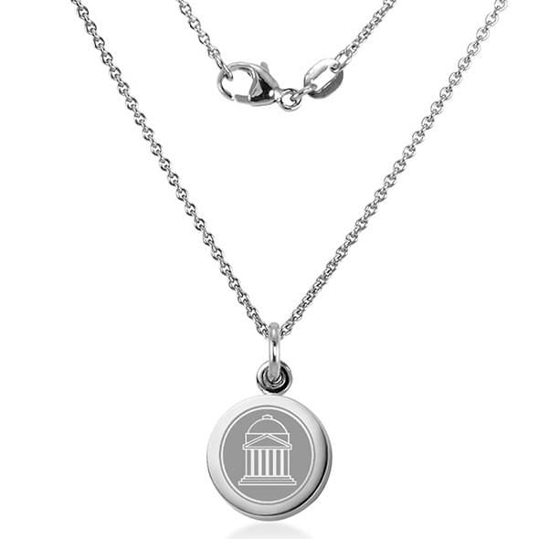 Southern Methodist University Necklace with Charm in Sterling Silver - Image 2