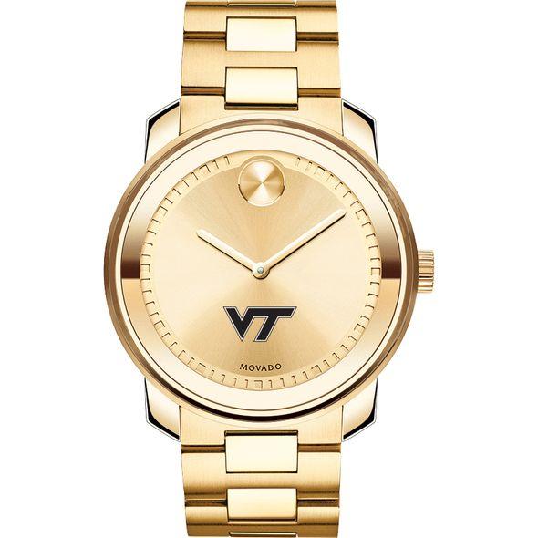 Virginia Tech Men's Movado Gold Bold - Image 2