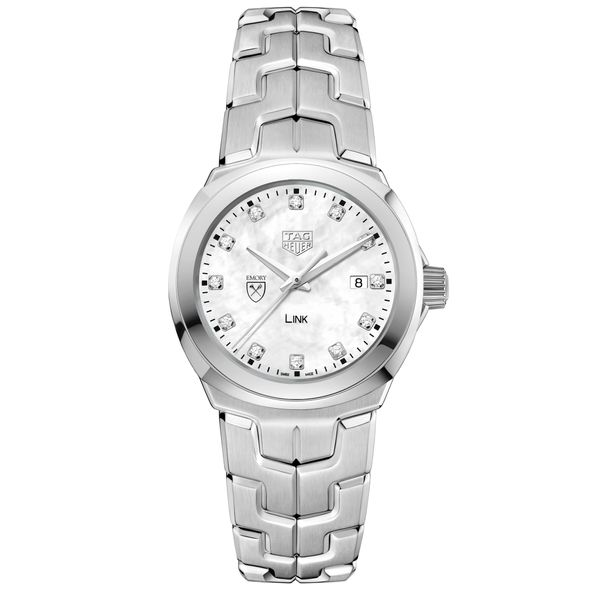 Emory University TAG Heuer Diamond Dial LINK for Women - Image 2