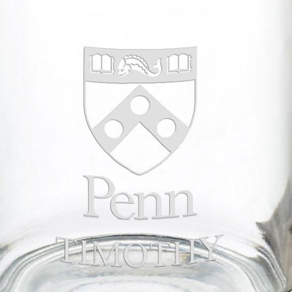 University of Pennsylvania 13 oz Glass Coffee Mug - Image 3