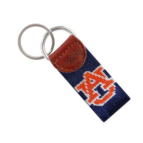 Auburn Cotton Key Fob