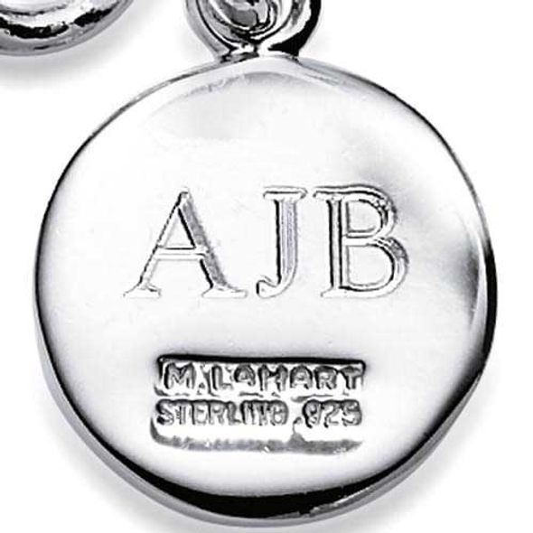 Davidson College Sterling Silver Charm Bracelet - Image 3