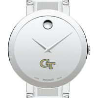 Georgia Tech Men's Movado Sapphire Museum with Bracelet